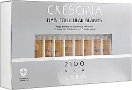 Духи, Парфюмерия, косметика Лосьон для стимуляции роста волос для мужчин 2100 - Crescina Hair Follicular Island 2100 Man
