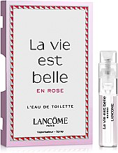 Духи, Парфюмерия, косметика Lancome La Vie Est Belle En Rose - Туалетная вода (пробник)