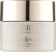Духи, Парфюмерия, косметика Омолаживающая маска для лица с частичками золота - Herla Gold Supreme 24K Gold Rejuvenating Face Mask With Pure Gold Flakes