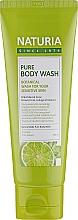 Духи, Парфюмерия, косметика Гель для душа - Naturia Pure Body Wash Wild Mint & Lime
