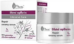 Парфумерія, косметика Facial Night Cream - Ava Laboratorium Extended Capillaries Cream Serum