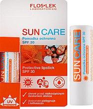 Духи, Парфюмерия, косметика Защитный бальзам для губ - Floslek Sun Care Protective Lipstick UV SPF 30