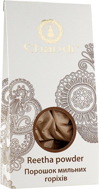 Порошок мильних горіхів для миття волосся і тіла - Chandi — фото N1