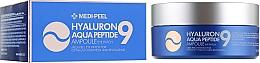 Парфумерія, косметика Гідрогелеві патчі глибокого зволоження з пептидами - Medi Peel Hyaluron Aqua Peptide 9 Ampoule Eye Patch