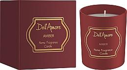 Парфумерія, косметика Dell Amore Amber - Ароматизована свічка