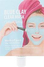 """Духи, Парфюмерия, косметика Глиняная маска для лица """"Голубая"""" - CNF She's Lab Blue Clay Clear Mask"""