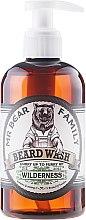 Духи, Парфюмерия, косметика Шампунь для бороды - Mr. Bear Family Beard Wash Wilderness