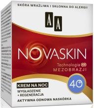 Духи, Парфюмерия, косметика Ночной антивозрастной крем для лица 40+ - AA Cosmetics Novaskin Night Cream