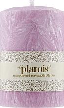Духи, Парфюмерия, косметика Декоративная пальмовая свеча, розовый перламутр - Plamis