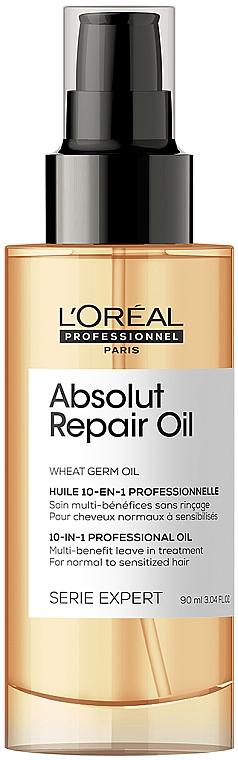 Восстанавливающее масло для поврежденных волос - L'Oreal Professionnel Absolut Repair Oil