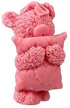 """Духи, Парфюмерия, косметика Мыло натуральное """"Мишка с подушкой"""", розовый - LaQ"""