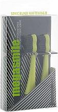 """Духи, Парфюмерия, косметика Насадки для звуковой гидроактивной зубной щетки """"Блэк Вайтенинг ІІ"""", Electric Yellow - Megasmile Sonic Black Whitening II"""