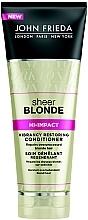 Духи, Парфюмерия, косметика Восстанавливающий кондиционер для светлых волос - John Frieda Sheer Blonde Hi-Impact Conditioner