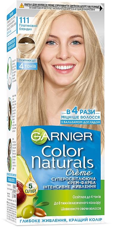 Стойкая краска для волос c интенсивным питанием - Garnier Color Naturals