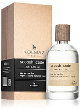 Духи, Парфюмерия, косметика Kolmaz Scoosh Code - Парфюмированная вода
