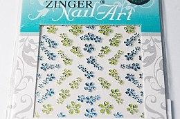 Духи, Парфюмерия, косметика Наклейки для дизайна ногтей, S-HSW-419 - Zinger Nail Art Sticker