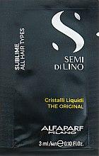 Духи, Парфюмерия, косметика Жидкие кристалы для волос - Alfaparf Semi di Lino Sublime Cristalli Liquidi
