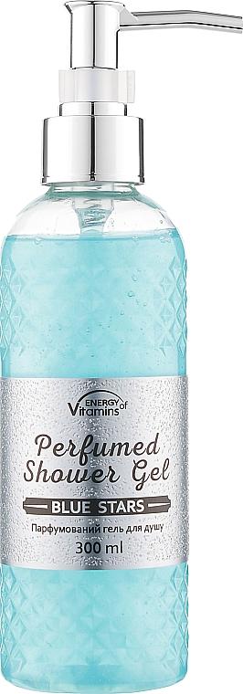 Парфюмированный гель для душа - Energy of Vitamins Perfumed Blue Stars