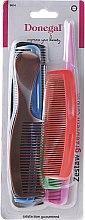 Духи, Парфюмерия, косметика Набор расчесок для волос ,9814, разноцветный, 6 шт - Donegal Hair Comb