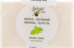 Духи, Парфюмерия, косметика Растительное мыло с ментолом и оливковым маслом - Selesta Life Soap