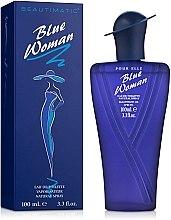 Духи, Парфюмерия, косметика Beautimatic Blue Woman - Туалетная вода
