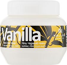 Духи, Парфюмерия, косметика Маска для сухих волос - Kallos Cosmetics Vanilla Shine Hair Mask