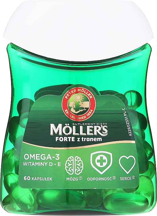 """Пищевая добавка """"Омега-3"""" - Orkla Moller's Forte Omega-3"""