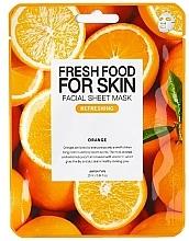 "Духи, Парфюмерия, косметика Тканевая маска для лица ""Апельсин"" - Superfood For Skin Facial Sheet Mask Orange Refreshing"