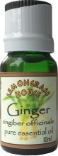 "Духи, Парфюмерия, косметика Эфирное масло ""Имбирь"" - Lemongrass House Ginger Pure Essential Oil"