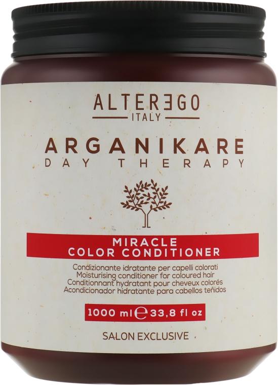 Увлажняющий кондиционер для окрашенных волос - Alter Ego Arganikare Miracle Color Conditioner