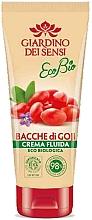 Духи, Парфюмерия, косметика Бальзам для тела - Giardino Dei Sensi Ecobio Goji Berries Fluid Cream
