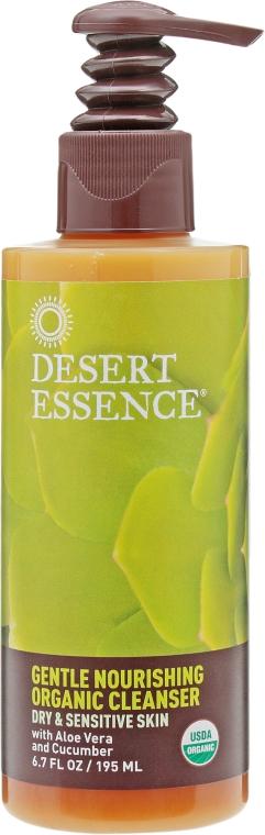 Средство для умывания для сухой кожи - Desert Essence Gentle Nourishing Organic Cleancer