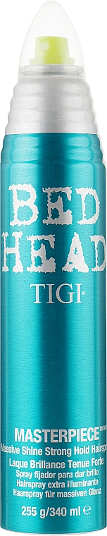 Лак для волос с интенсивным блеском - Tigi Bed Head Masterpiece Massive Shine Hairspray