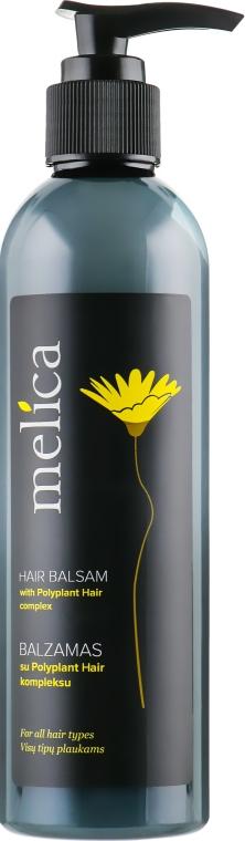 Бальзам-кондиционер сбор экстрактов 12 трав для всех типов волос - Melica Hair Balsam