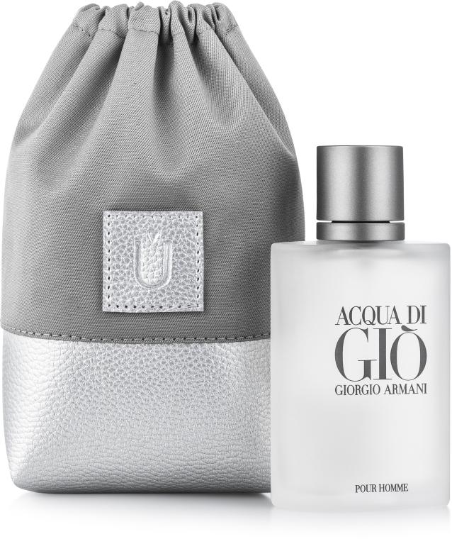 """Подарочный кисет для парфюмерии, серый """"Perfume Dress"""" - Makeup"""