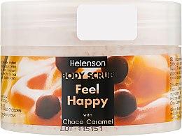 "Духи, Парфюмерия, косметика Скраб для тела ""Шоколадно-карамельный"" - Mediterraneum Helenson Body Scrub Feel Happy With Choco Caramel"