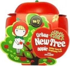 Духи, Парфюмерия, косметика Осветляющая маска для лица - Urban Dollkiss New Tree Apple Instant Tone-up Brightening Pack