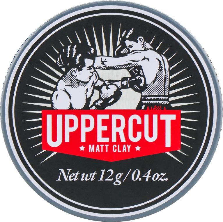Глина для укладки - Uppercut Deluxe Matt Clay (мини)