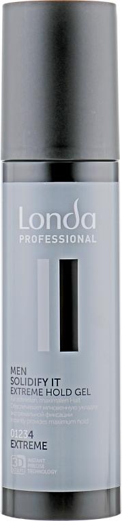 Гель для укладки экстремальной фиксации - Londa Professional Men Solidify It Extreme Hold Gel
