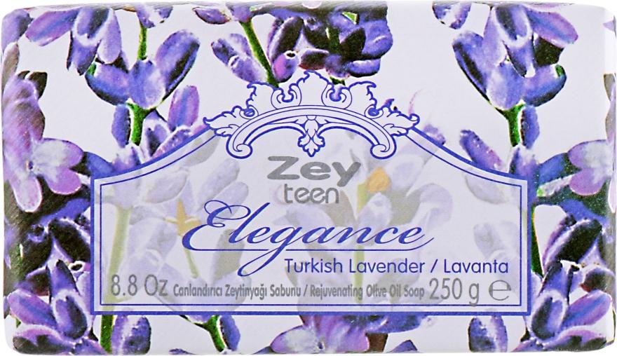 "Натуральное оливковое мыло ""Лаванда"" - Olivos Zey Teen Elegance Lavender Soap"