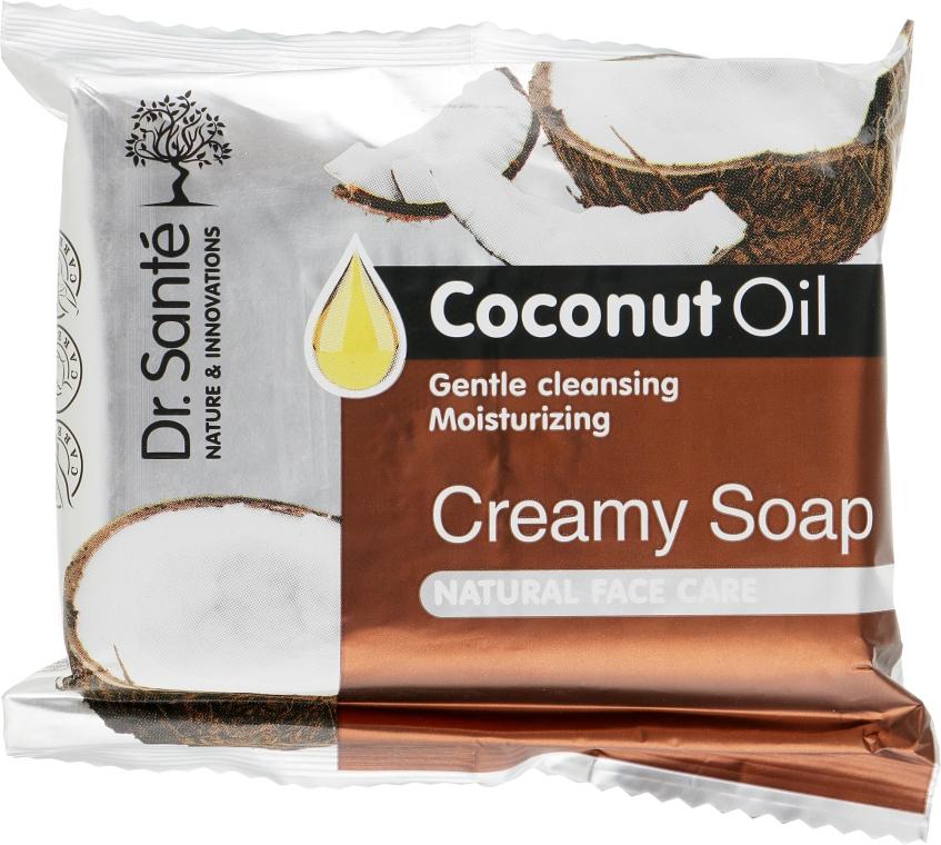Крем-мыло с маслом кокоса для лица - Dr.Sante Cream Soap