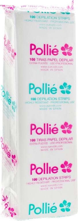 Полоски для воска суперпрочные, 02556 - Pollie