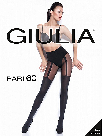 """Колготки для женщин """"Pari 18"""" 60 Den, nero - Giulia"""