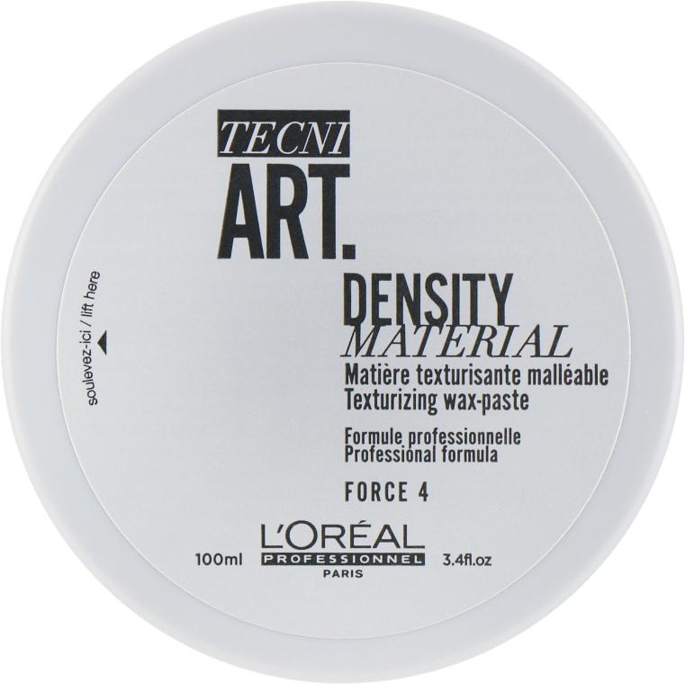 Уплотнительный воск-паста для текстуры и укладки коротких волос - L'Oreal Professionnel Tecni.Art Density Material Wax-Paste