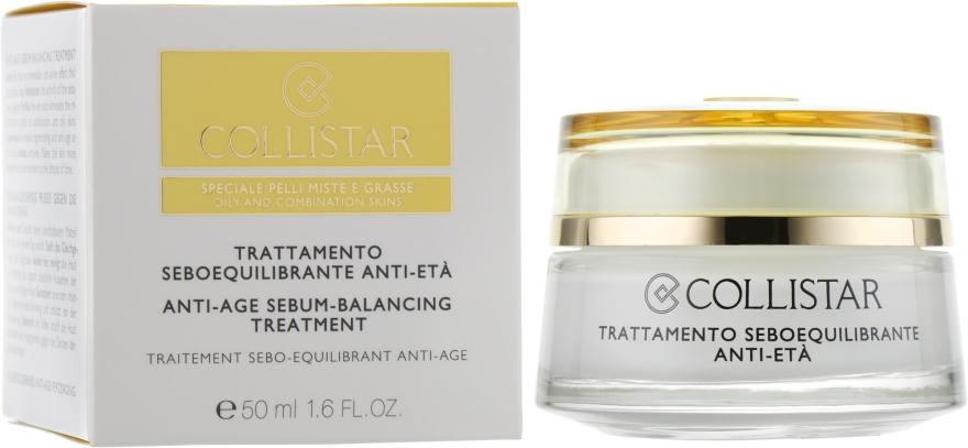 Антивозрастной крем для жирной и комбинированной кожи - Collistar Anti-Age Sebum-Balancing — фото N1