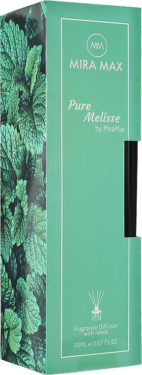 Аромадиффузор + тестер - Mira Max Pure Melisse Fragrance Diffuser With Reeds