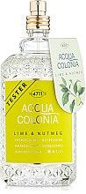Духи, Парфюмерия, косметика Maurer & Wirtz 4711 Aqua Colognia Lime & Nutmeg - Одеколон (тестер без крышечки)