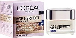 Духи, Парфюмерия, косметика Ночной крем - L'Oreal Paris Age Perfect Neo-Calcium Cream