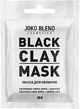 Духи, Парфюмерия, косметика Черная глиняная маска для лица - Joko Blend Black Clay Mask