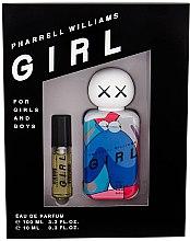 Духи, Парфюмерия, косметика Pharrell Williams Girl - Набор (edp/100ml + edp/10ml)
